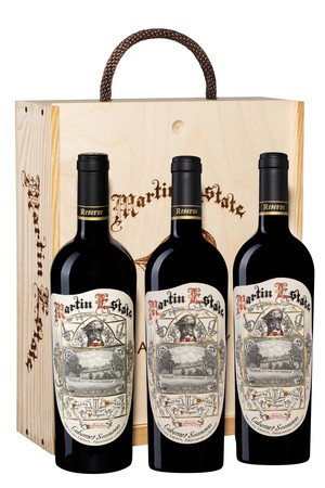 2009 MARTIN ESTATE RESERVE LIBRARY 3x750ml
