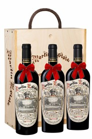 MARTIN ESTATE COLLECTOR'S RESERVE HOLIDAY GIFT SET (x3/750ml)
